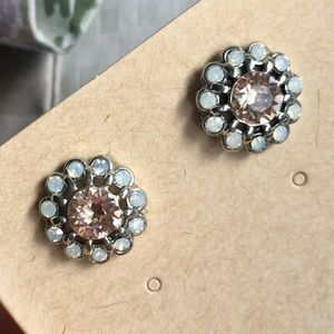 Chloe + Isabel Celestial Frost Stud Earrings